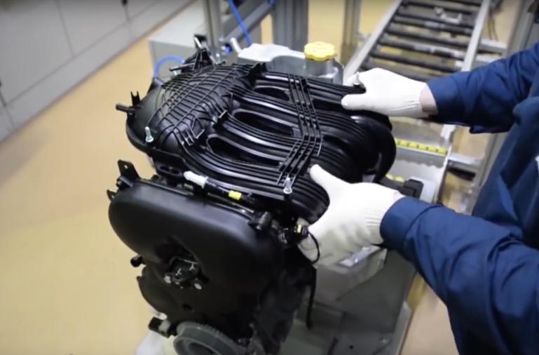 Ресивер двигателя LADA Vesta, LADA XRAY