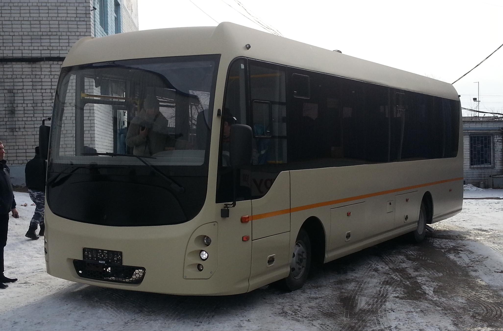 Проектирование автобусов для ПромТеха