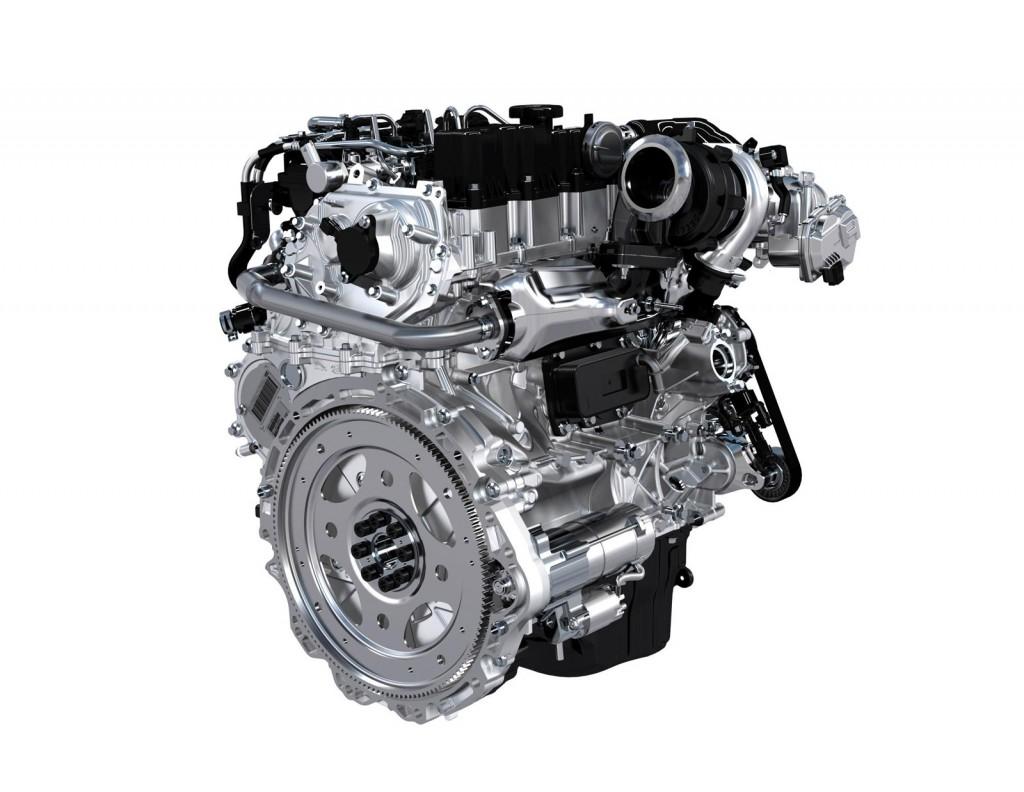 Новые 2,0-литровые бензиновые двигатели Jaguar