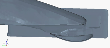 F1-E420 wing profile
