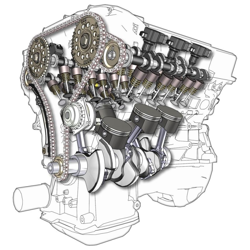 Audi V6 IC Engine