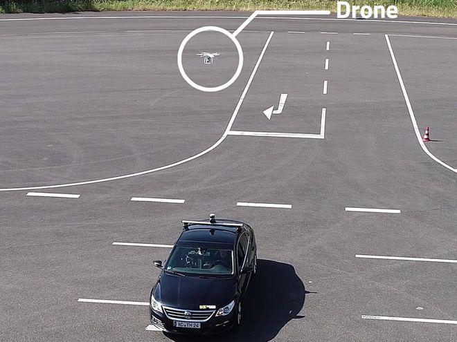 Fka собирает данные о трафике с помощью дронов