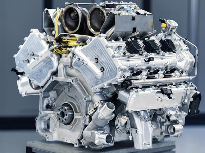 Гибридный двигатель V6 для Aston Martin Valhalla