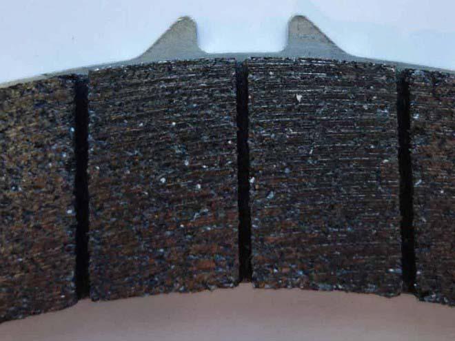 Тормозные колодки без меди и никеля
