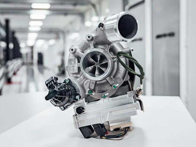 Электрические турбокомпрессоры выхлопных газов Mercedes-AMG