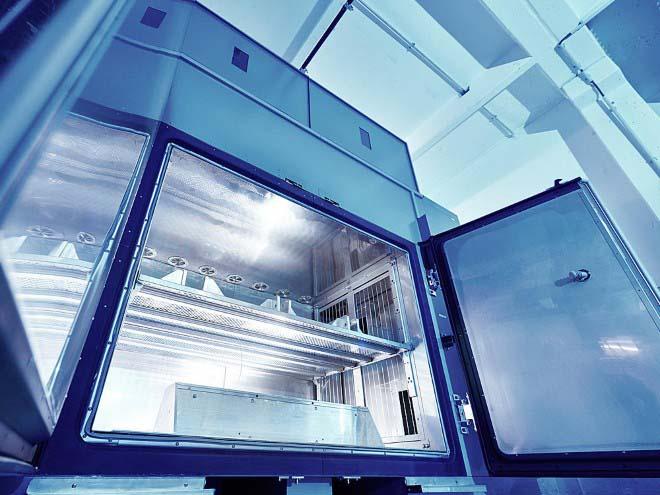 Bertrandt: стенды для тестирования электрических приводов.