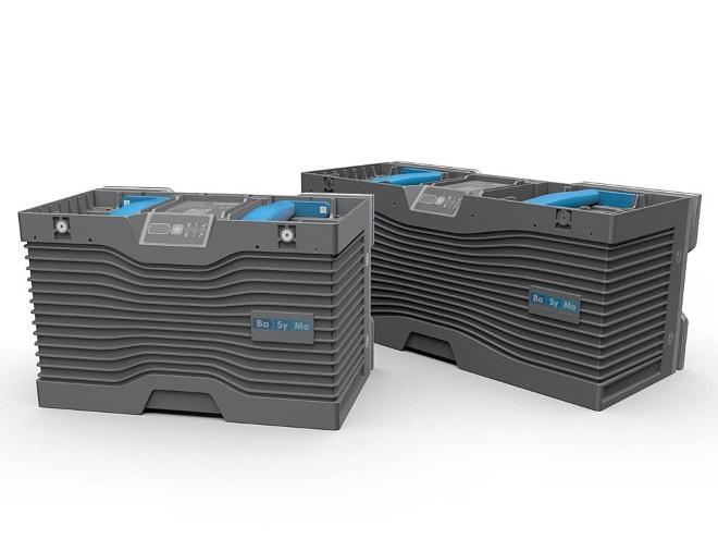 Единый батарейный модуль для мобильного и стационарного использования